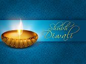 stock photo of indian blue  - Indian festival of lights - JPG