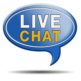 stock photo of chat  - live chat icon - JPG