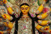 picture of saraswati  - Durga Puja Festival in Kolkata Bengal  - JPG