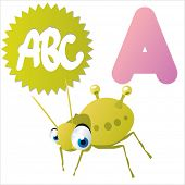 picture of aphid  - A is for Aphid - JPG