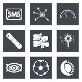 foto of spinal disks  - Icons for Web Design and Mobile Applications set 40 - JPG