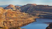 picture of gold mine  - This mine is located in Riotinto Huelva Spain - JPG