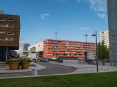 The Modern City Centre Of Almere, The Netherlands