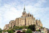 picture of mont saint michel  - Abbey Mont Saint - JPG
