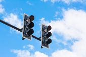 stock photo of fail-safe  - image of traffic light the light is fail - JPG