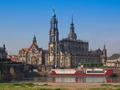 picture of trinity  - Dresden Cathedral of the Holy Trinity aka Hofkirche Kathedrale Sanctissimae Trinitatis in Dresden Germany - JPG