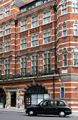 stock photo of front door  - Ornate apartment building near Pall Mall - JPG