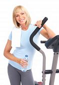 picture of elderly woman  - Gym  - JPG