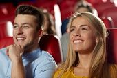 stock photo of watching movie  - cinema - JPG