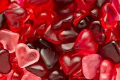image of jelly beans  - candy heart jelly beans Valentine full-frame wallpaper