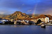 pic of canary-islands  - Los Cristianos resort in Tenerife - JPG