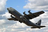 stock photo of c130  - Farnborough Airshow 2010  - JPG