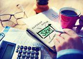 stock photo of enterprise  - Supplier Relationship Management SRM Assessment Enterprise Analysis Concept - JPG