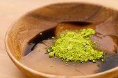 pic of kudzu  - Japanese confectionery - JPG