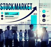 image of stock market data  - Stock Market Stock Exchange Trade Digital Concept - JPG