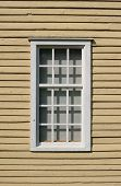 Weathered  Wooden Window poster