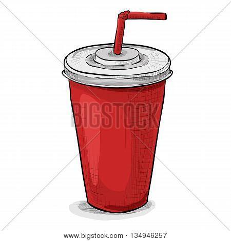 Cola cup Coca