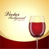 Red wine vector background