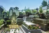 Montmartre Cemetery Is A Cemetery In The 18th Arrondissement Of Paris, France, That Dates To The Ear poster