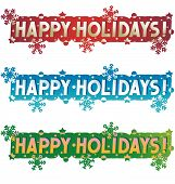 foto of happy holidays  - Holiday greetings  - JPG