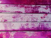 Pink Or Purple Wooden Background. Close-up Wall Or Floor Wooden Purple Plank Panel Or Board As Pink  poster