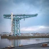 Clydebank Titan Crane poster