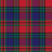 Classic Modern Plaid Tartan Seamless Pattern In Vector poster