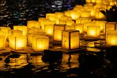 The Floating Lamp Is A Type Of Lamp That Floats On The Surface Of The Water. It Is Also Known As A R poster