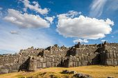 Sacsayhuaman With Beautiful Clouds