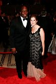 NEW YORK-SEP 17: Pro football player Kevin Boothe (L) and wife Rosalie attend the 14th annual New Yo