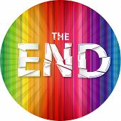 foto of end rainbow  - Words  - JPG
