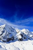 picture of italian alps  - Winter mountains - JPG