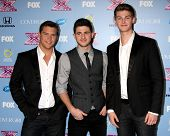 LOS ANGELES - NOV 4:  Restless Road - Andrew Scholz, Colton Pack, Zach Beeken at the 2013