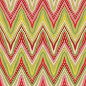 foto of psychedelic  - psychedelic linear zigzag seamless pattern in vector - JPG