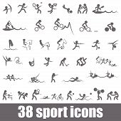 picture of judo  - Sports icons - JPG