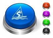 Sailboat Icons on Round Button Collection