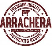 Authentic Mexico Arrachera Skirt Steak Stamp