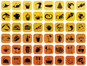 picture of continental food  - Food vector symbols fr your design - JPG