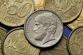 image of aristoteles  - Coins of Greece - JPG