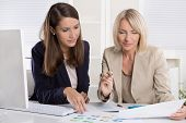 pic of women rights  - Team of successful businesswoman in the office - JPG