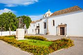 pic of faro  - Faro Archaeological Museum in Faro Algarve region of Portugal - JPG