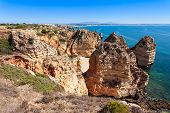 picture of lagos  - Ponta da Piedade in Lagos Algarve region in Portugal - JPG