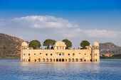 picture of palace  - Jal Mahal  - JPG