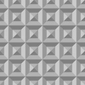 picture of grayscale  - 3D pattern with grayscale triangles and squares with shadow - JPG