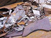 picture of ironworker  - The close view of debris at ironworks - JPG