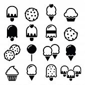 picture of lollipops  - Dessert icons  - JPG