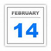 stock photo of february  - February 14 - JPG