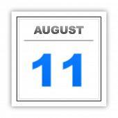 pic of august calendar  - August 11 - JPG