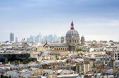 ������, ������: Saint augustin Church With Paris Skyline