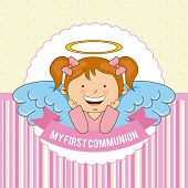 picture of communion  - my first communion  design - JPG